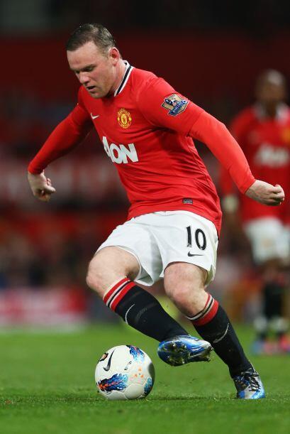 Pero Rooney y compañía empezaron a mover la pelota, aunque tampoco con m...