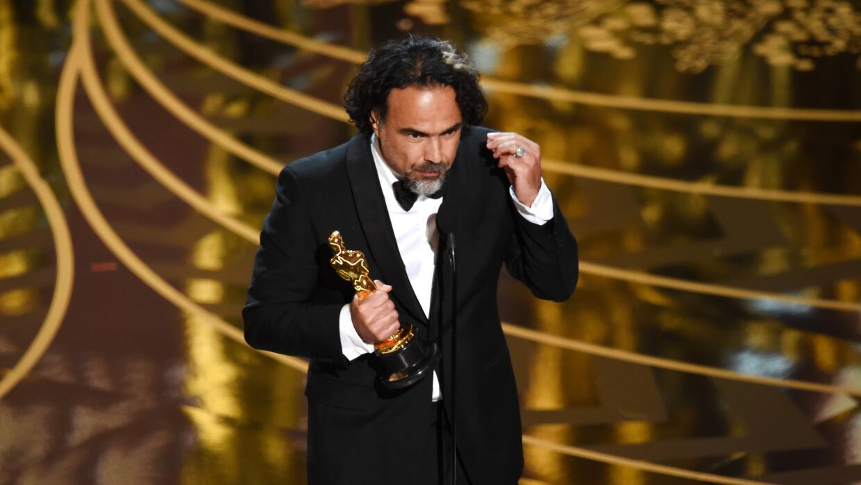 Los mexicanos Iñárritu y Lubezki hacen historia en los Oscar inarritu4.jpg