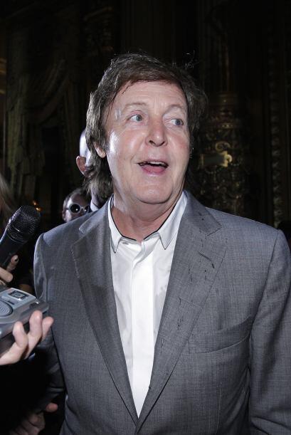 En el camerino de Paul McCartney no puede haber carne, cuero o pieles ya...