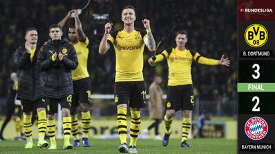 Borussia Dortmund is back! Sacudió al Bayern y se afianza en Bundesliga