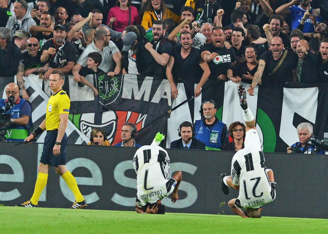 Juventus hizo fiesta contra Barcelona en la Champions League 63627544283...