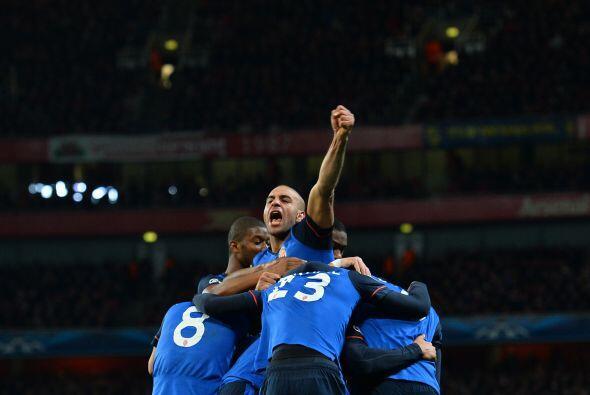 Los franceses dieron la sorpresa de la ida de los octavos de final al ve...