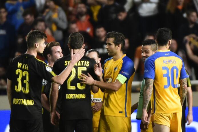 APOEL 1-1 Borussia Dortmund: gran empate del equipo chipriota, que sumó...
