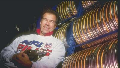 Steve Sabol, inseparable de sus cámaras y de los miles y miles de kilóme...