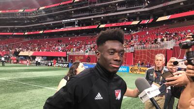 Las figuras del All-Star Game de la MLS hablaron con la prensa en el Mercedes-Benz Stadium