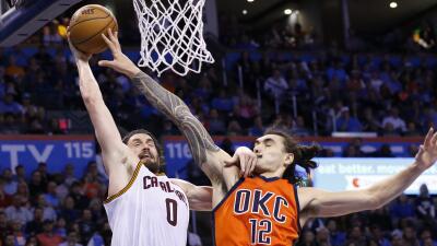 Cleveland derrotó 112-92 a Oklahoma City