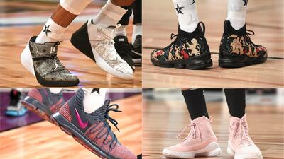 ¡A los pies del talento! Los modelos de tenis en el NBA All Star Game