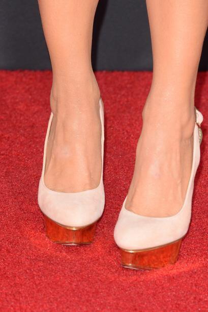 'Pin heels'. Su diseño es muy similar a los 'stilettos', pero el 'plus'...