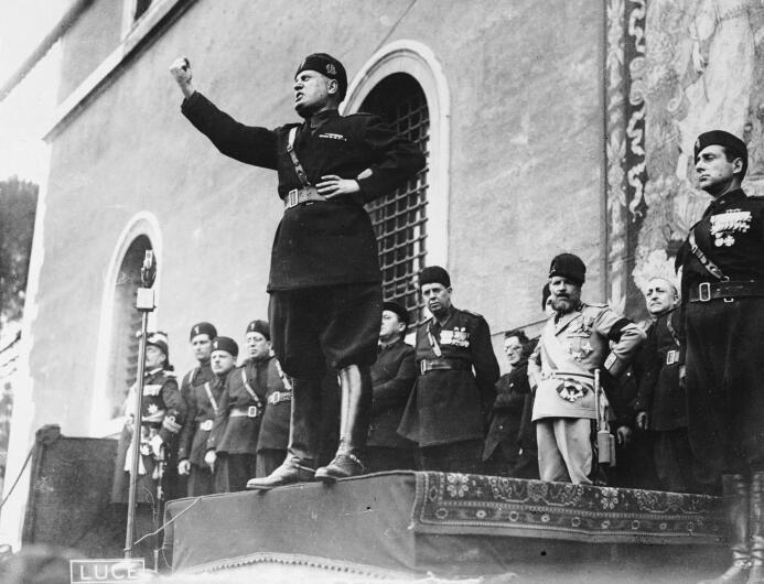 Mussolini pretendía darle a la capital, Roma, un equipo con suficiente f...
