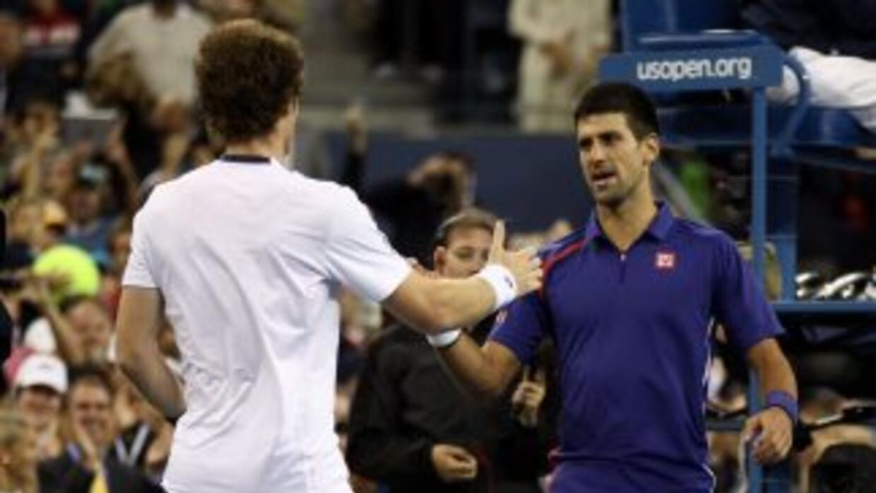 La final del US Open 2012 se la ganó Murray a Djokovic, ahora en Shangha...