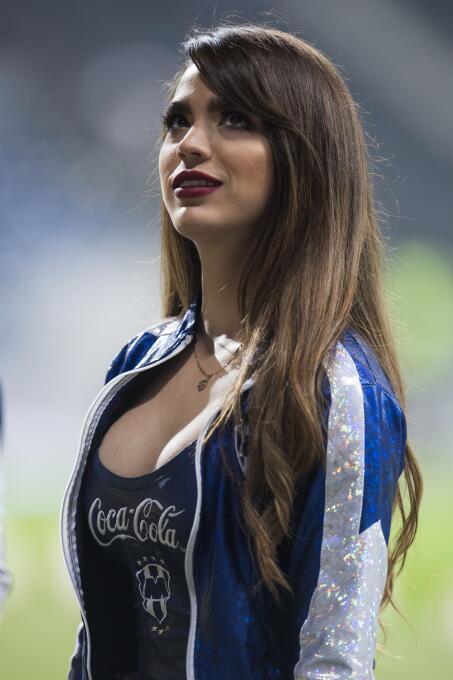 Como no podía ser de otra manera, la belleza en la final de la Copa MX s...