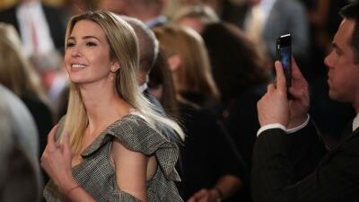 Ivanka Trump, quien viajará a finales de mes a la India, en un evento so...