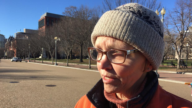 Jossie Saxtler, manifestante pide el cierre de Guantánamo