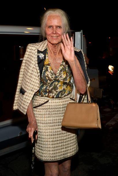 ¿La reconoces? ¿No? Pues es la reina del Halloween, Heidi Klum, en su ve...