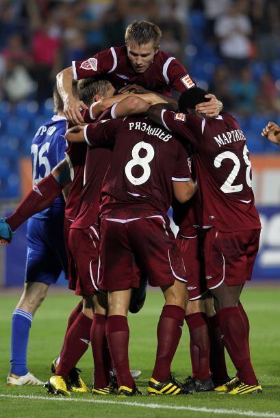 Y es posible que recuerden al cuarto equipo del grupo, el Rubín Kazán ru...