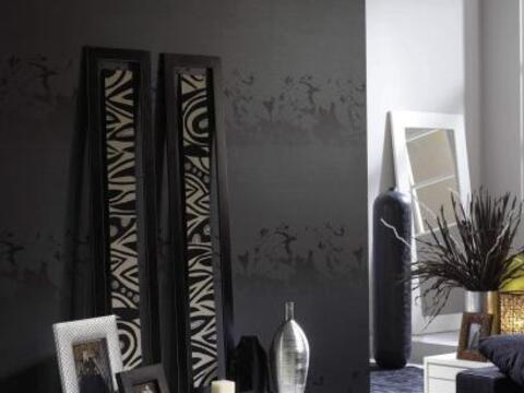 Aunque te pueda parecer extremo, pintar una pared completa de negro es u...