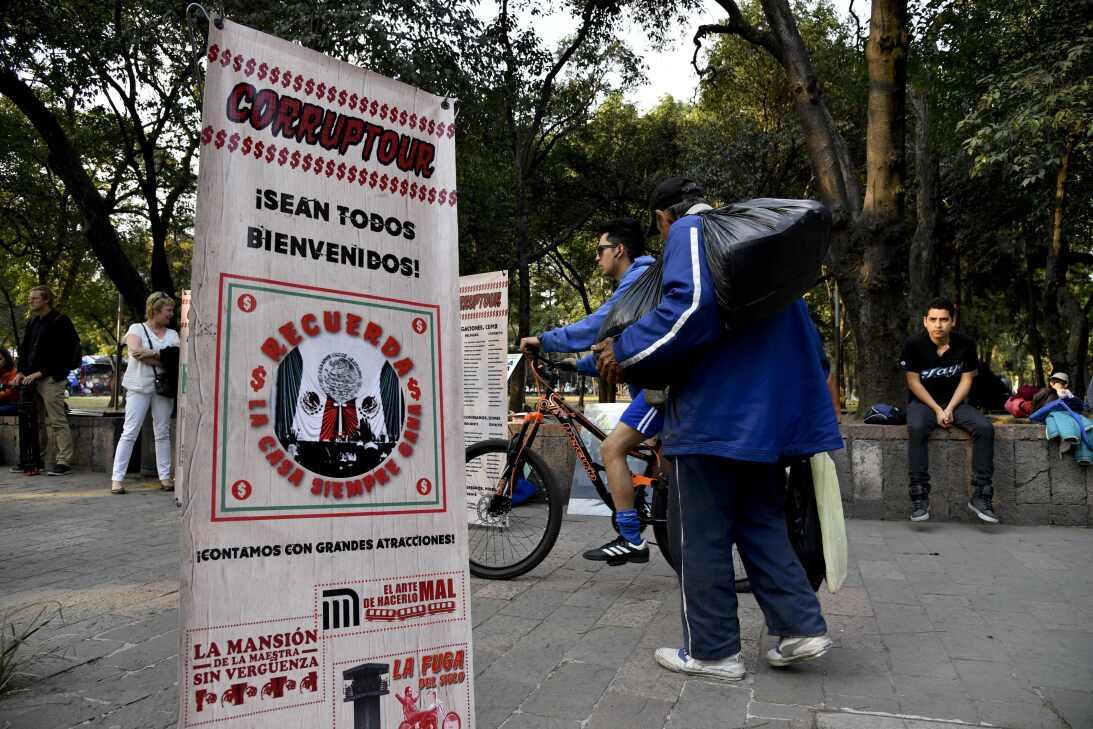 Cada domingo circula en Ciudad de México este tour con diez paradas en l...