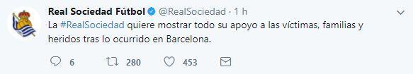 El mundo del deporte se solidariza con las víctimas de Barcelona BCN32.JPG