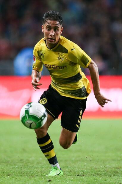 El joven Emre Mor, del Borussia Dortmund, estaría en la carpeta de contr...