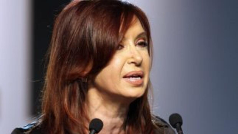 La presidenta argentina, Cristina Fernández, comenzó su segundo mandato...