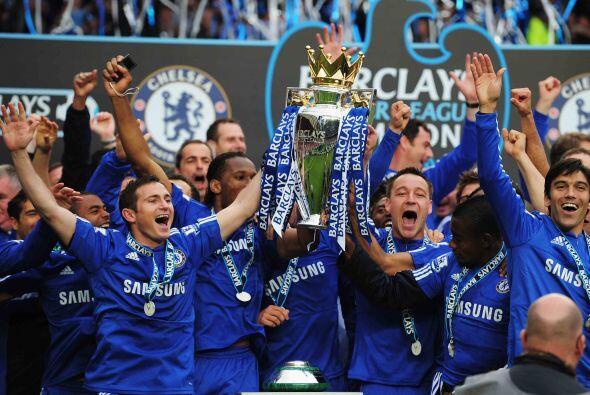 Con la última jornada del campeonato, el Chelsea se proclam&oacut...
