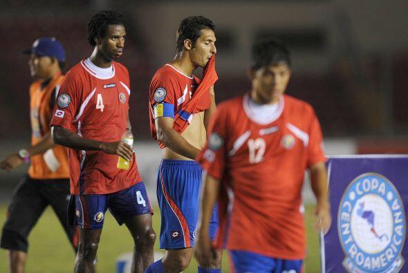 Costa Rica iba como favorita bajo el mando del entrenador Argentino Rica...