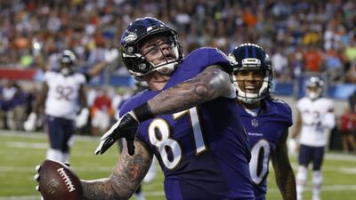 Regresó la NFL: Baltimore derrotó a Chicago en el Juego del Salón de la Fama