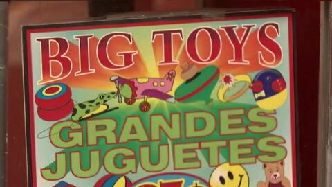 'Los Ángeles en un Minuto': máquina de juguetes de 25 centavos le arroja...