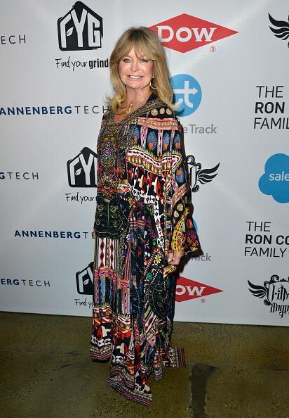 En 1970 Goldie Hawn no fue a recoger su reconocimiento como la mejor act...