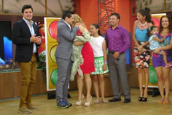 Alejandro Chabán se conmovió hasta las lágrimas de ver a Fátima tan feliz.