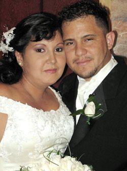 Marlon Marquez y Erika Posas unieron sus vidas gracias a la ayuda de la...