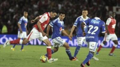 El clásico entre Millonarios y Santa Fe de Bogotá dejó una triste estela...