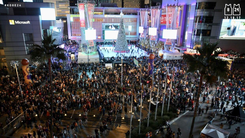 'Kobeland' a las afueras del Staples Center