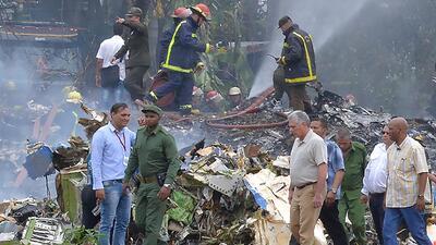 Cuba identifica a los pasajeros del avión que se estrelló tras despegar de La Habana