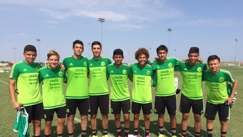 FC Dallas Sub-18 con Mexico