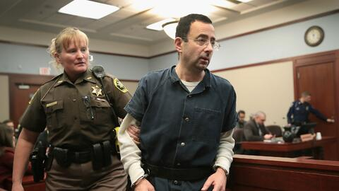 Imágenes del juicio por conducta sexual criminal que se lleva a c...