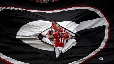 QB de la Universidad de Georgia (AP-NFL).