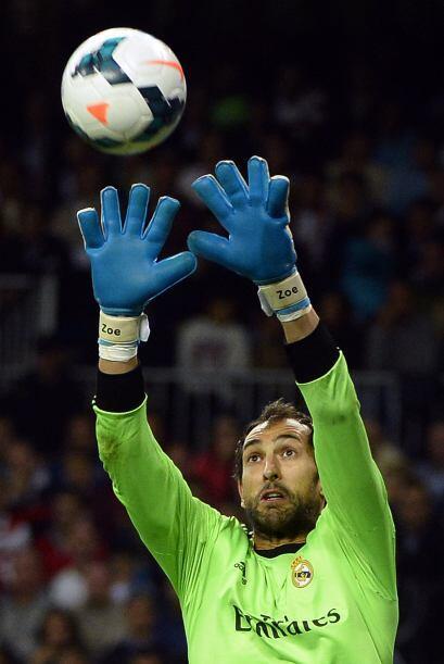 Diego López ha desplazado a Casillas, que ha quedado relegado a los part...