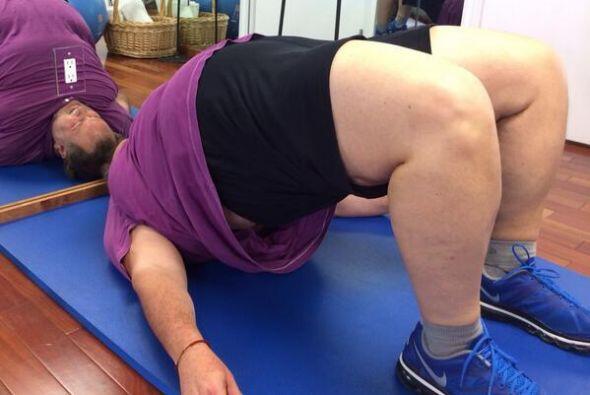 Por fin, Raúl de Molina nos dio a conocer su rutina de ejercicios...