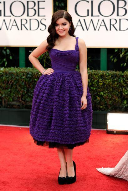 ¡Pero qué enorme bola de estambre! Ay no, era Ariel Winter y su vestido...