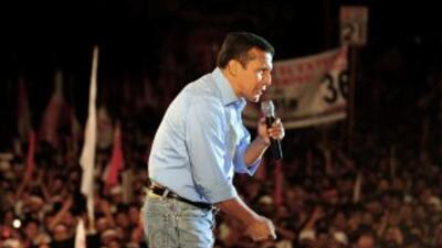 Ollanta Humala, candidato izquierdista es el favorito para ganar la Pre...