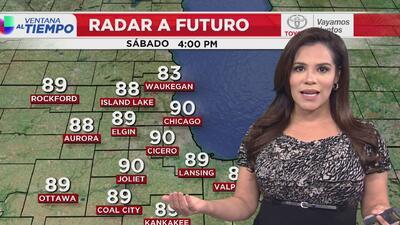 Pronóstico del tiempo para este fin de semana en Chicago