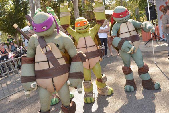 Famosos, voluntarios y hasta las Tortugas Ninja se divirtieron a lo máxi...