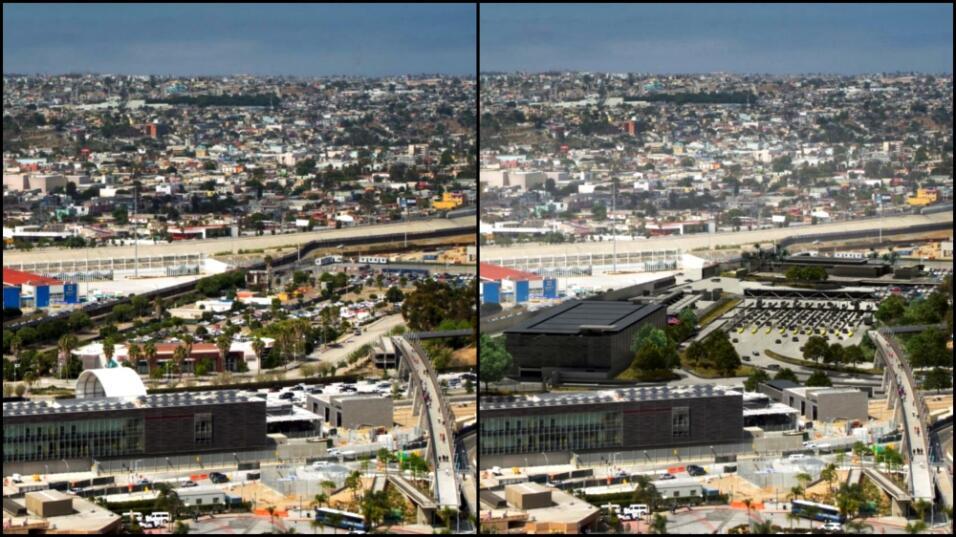 El antes y después de que se termine la tercera y última fase del proyec...