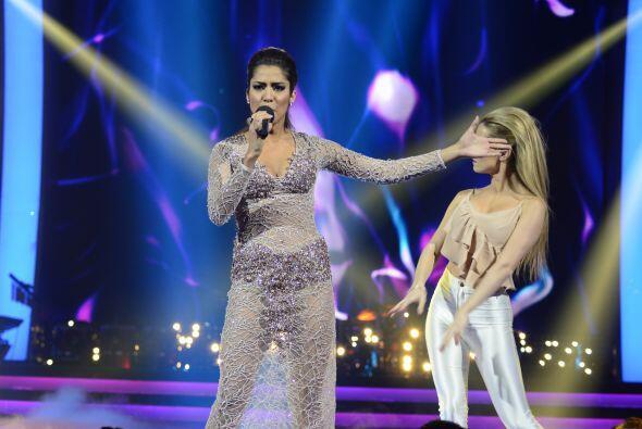 Virginia se enfrentó a Geissie con canciones de Rocío Dúrcal.