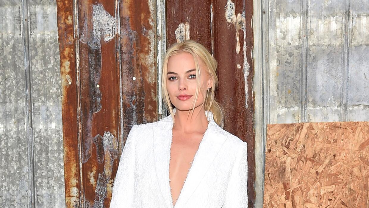 Classy Actress Margot Robbie attends the Givenchy fashion show