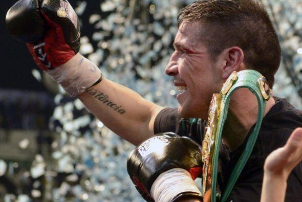 Sergio 'Maravilla' Martínez retuvo el cinturón mediano del CMB al vencer...