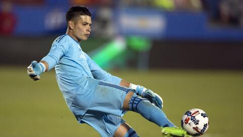 González, estadounidense y arquero de FC Dallas, promete fidelidad al Tri.