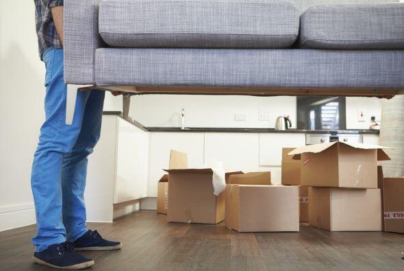 Después de pintar ahora sí dedica tiempo a ordenar todos tus muebles.