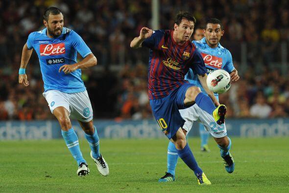Para el segundo tiempo, Lionel Messi entró al campo y trajo locos...
